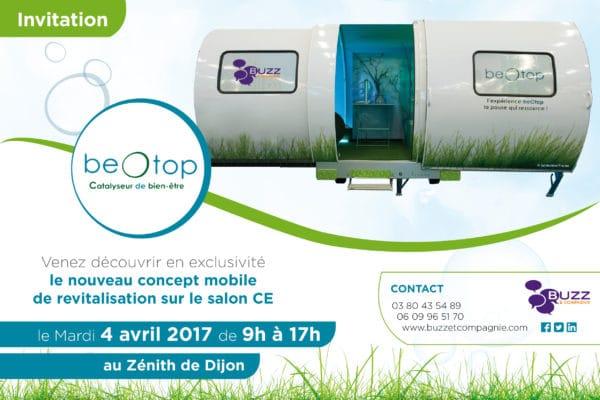 Invitation beOtop salon CE Dijon
