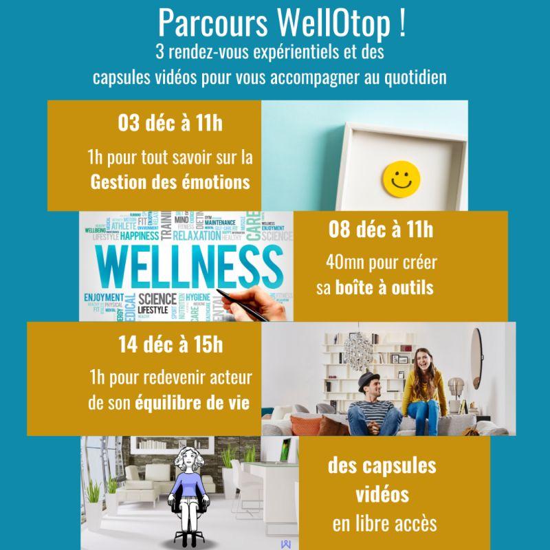 Parcours WellOtop pour Hopscotch Groupe