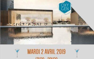 Afterwork NODD Oxygen Paris la Défense le 2 avril 2019
