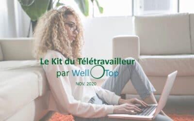 Le Kit du Télétravailleur par WellOtop