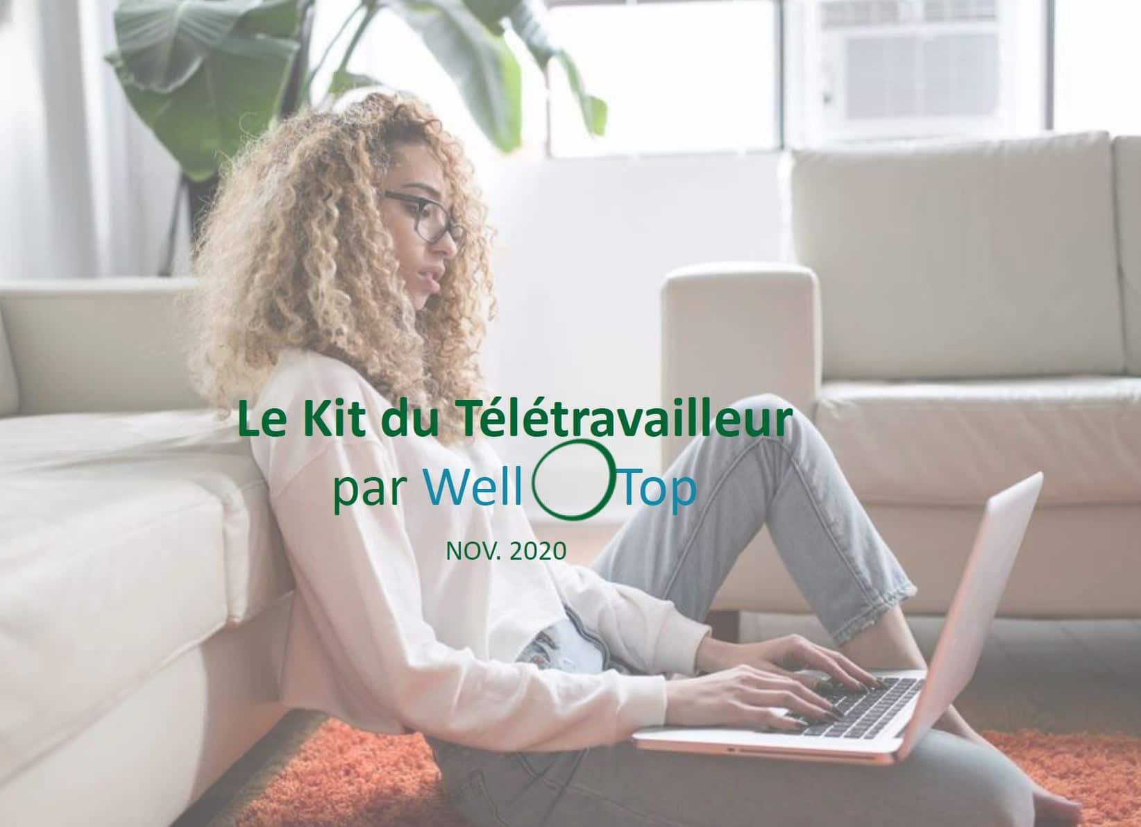 kit du télétravailleur wellOtop