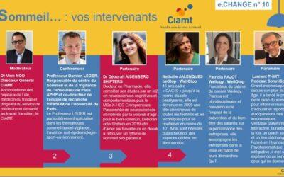 Conférence e-change du CIAMT sur la chronobiologie et le sommeil